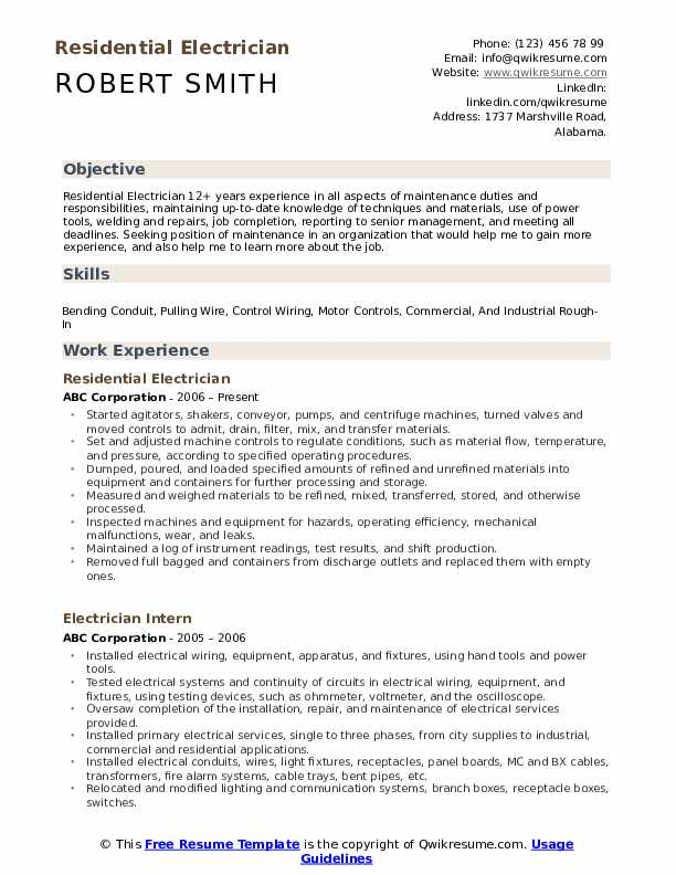 electrician resume samples qwikresume template microsoft word pdf office assistant send Resume Electrician Resume Template Microsoft Word