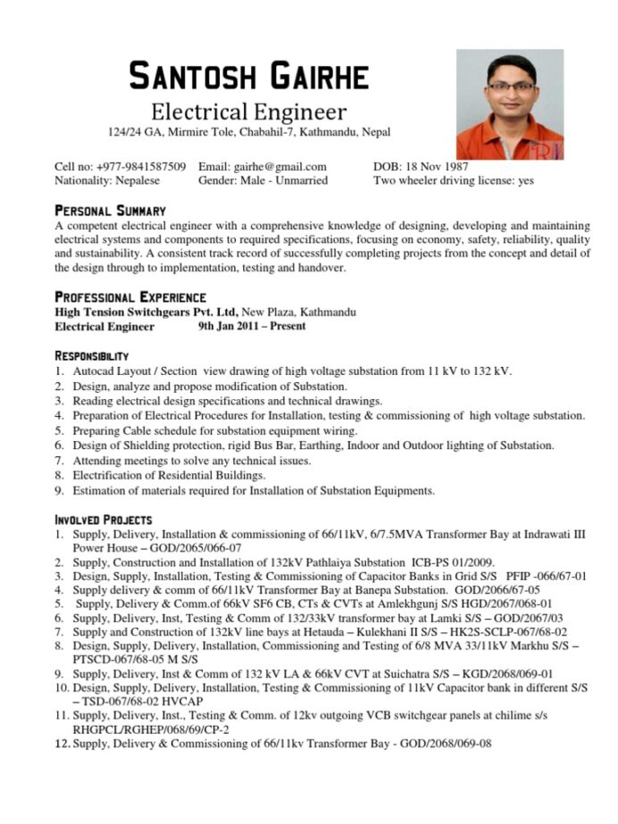 electronic engineer resume tire driveeasy sample for experienced electronics retail Resume Sample Resume For Experienced Electronics Engineer
