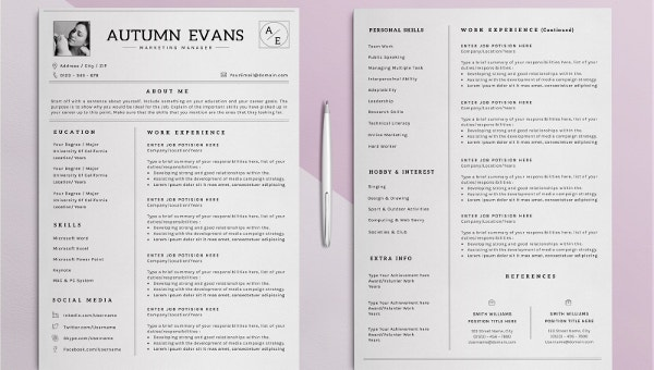 elegant resume templates pdf free premium template resume1 ats friendly entry level Resume Elegant Resume Template