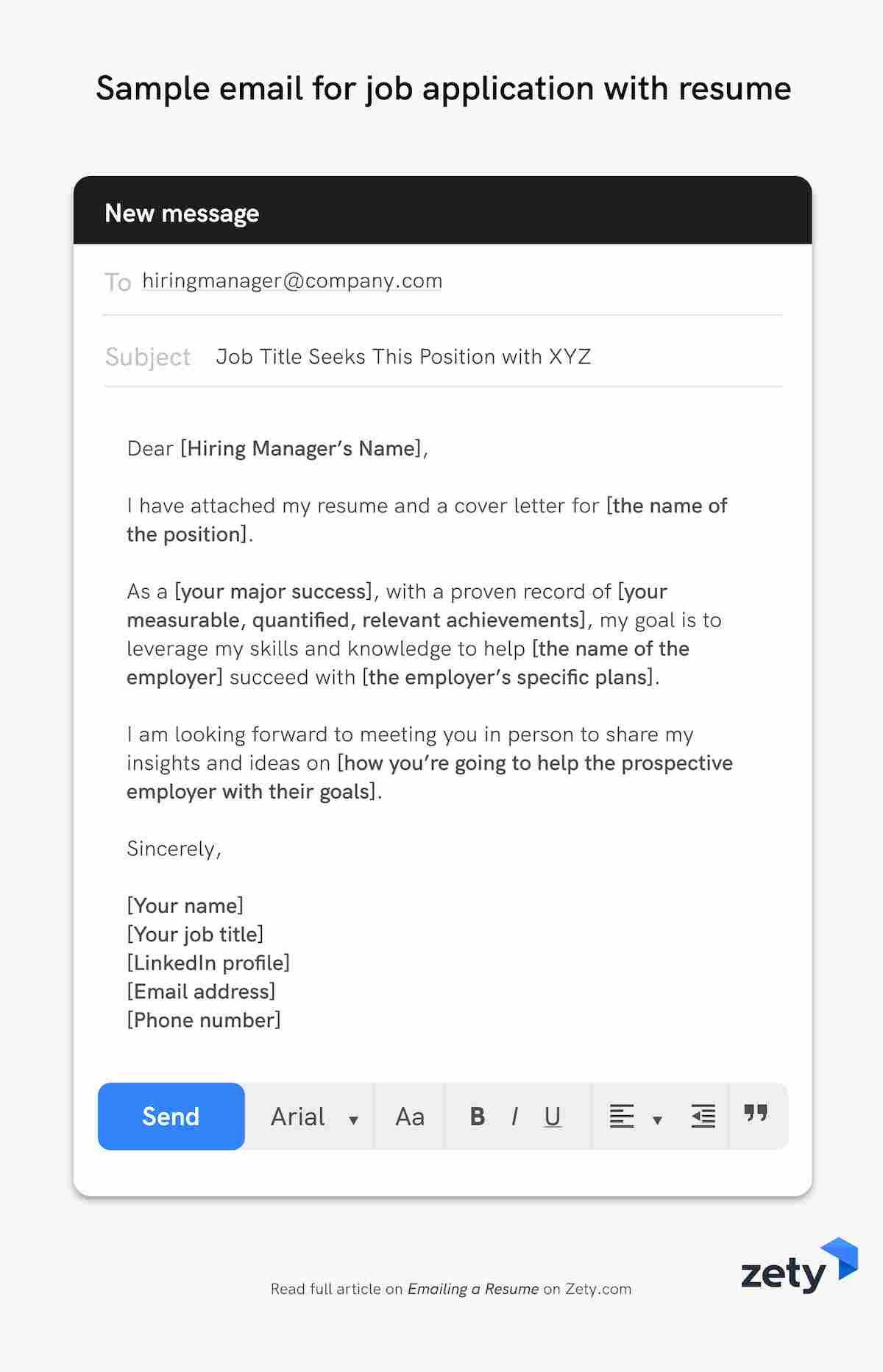 emailing resume job application email samples sample for submitting with skills on Resume Sample Email For Submitting Resume