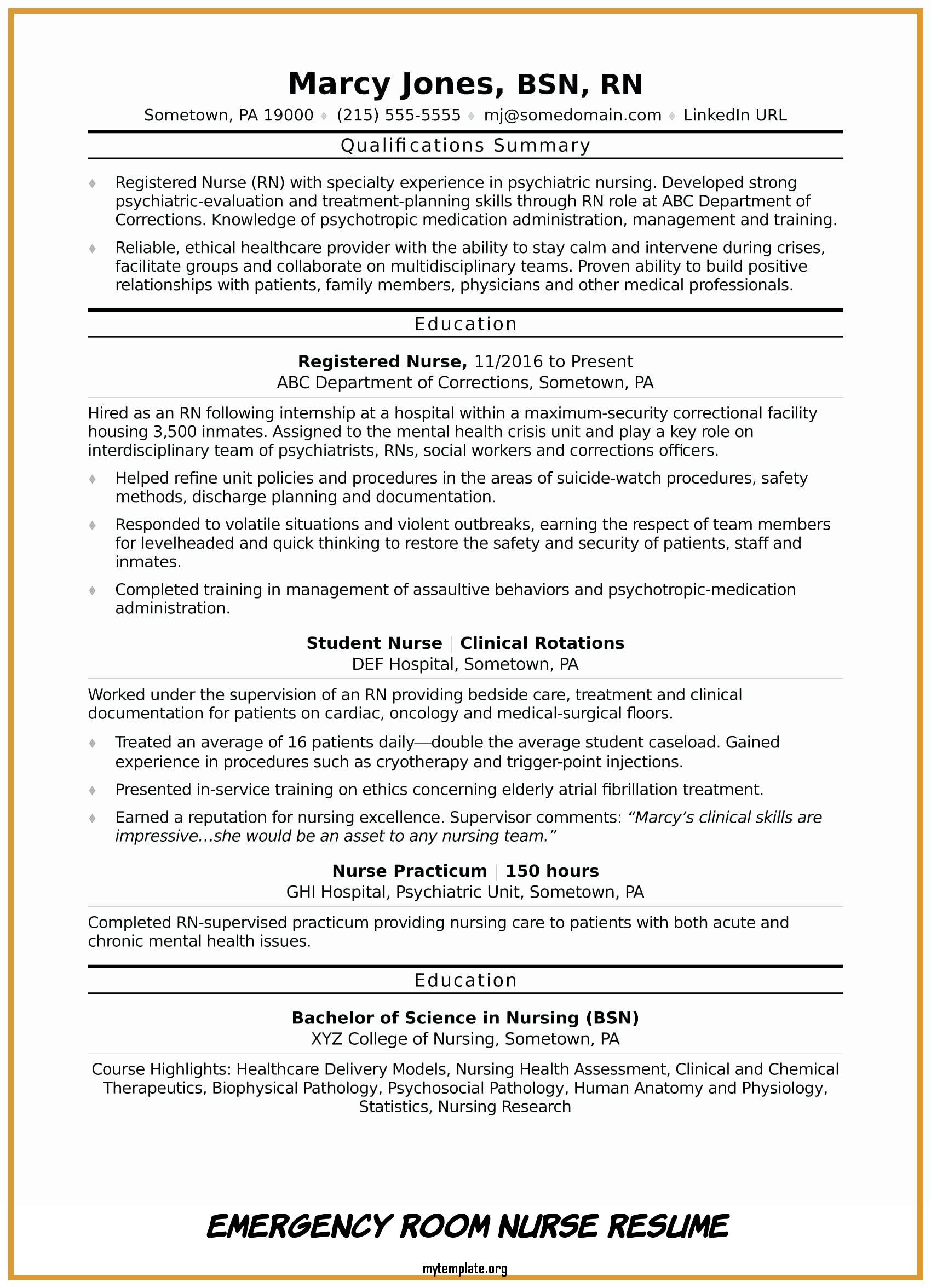 emergency room nurse resume free templates job description of awesome skills pin for self Resume Emergency Nurse Job Description Resume