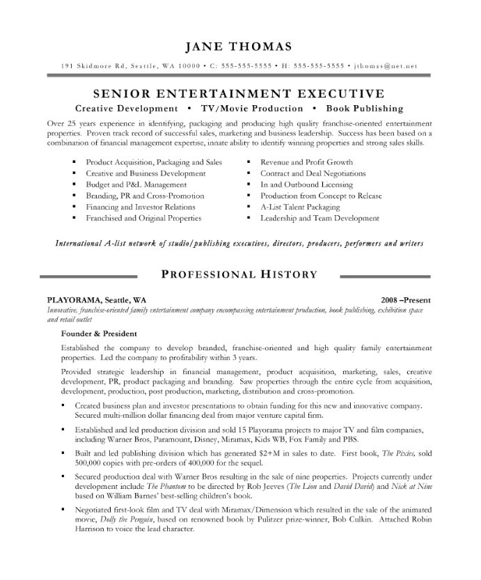 entertainment executive free resume samples blue sky resumes skills jane after assistant Resume Entertainment Skills Resume