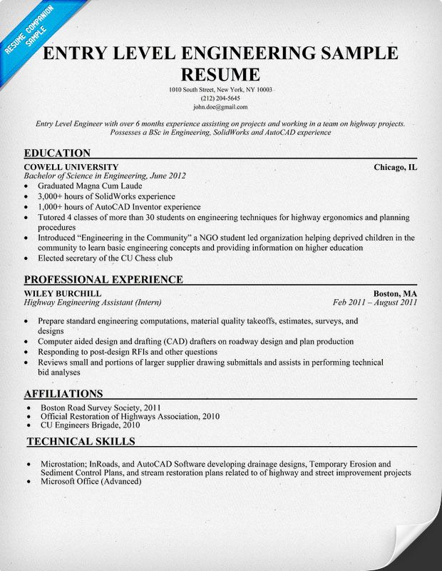 entry level engineering sample resume resumecompanion accountant job samples drafter Resume Entry Level Drafter Resume Sample