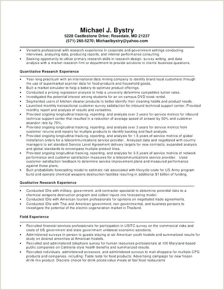 entry level market research analyst cover letter in resume profile data business Resume Quantitative Research Resume