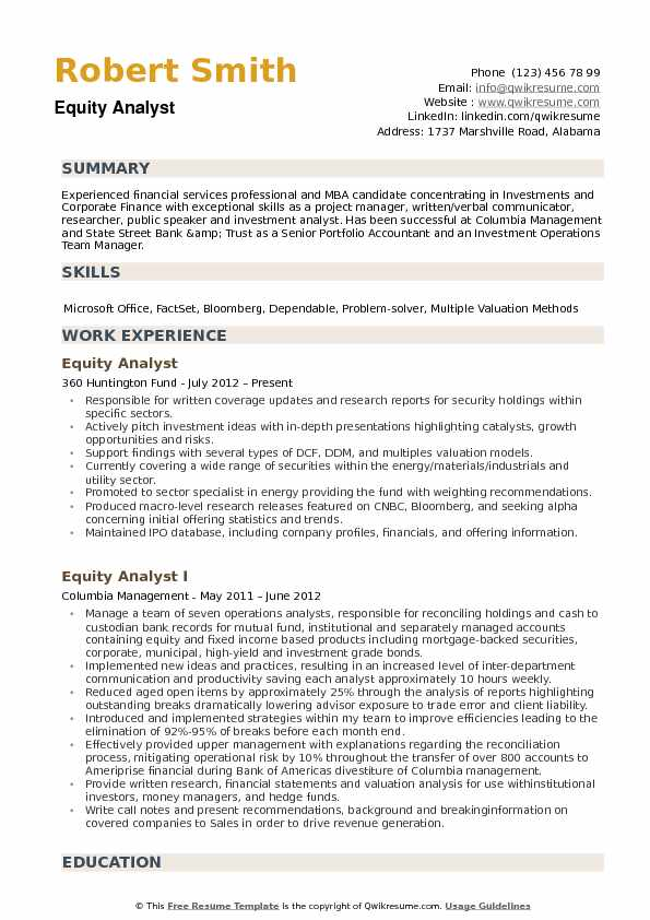 equity analyst resume samples qwikresume research example pdf cctv operator workamper Resume Equity Research Analyst Resume Example