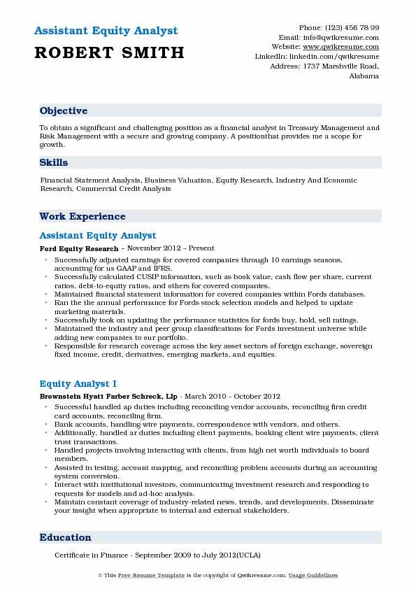 equity analyst resume samples qwikresume research example pdf rstudio front desk Resume Equity Research Analyst Resume Example