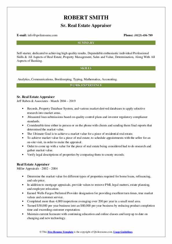 estate appraiser resume samples qwikresume objective pdf livecareer writing reviews Resume Real Estate Appraiser Resume Objective