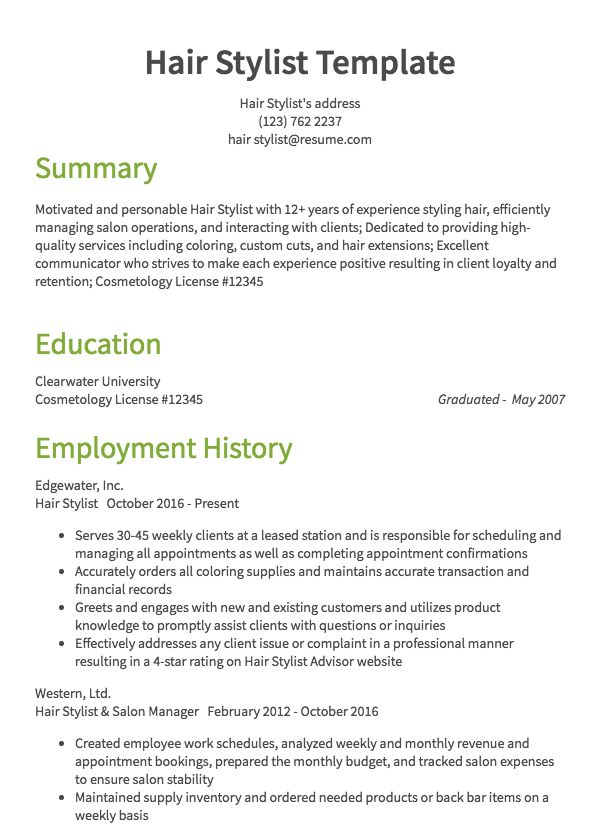 esthetician resume samples all experience levels summary general health beauty example Resume Esthetician Resume Summary
