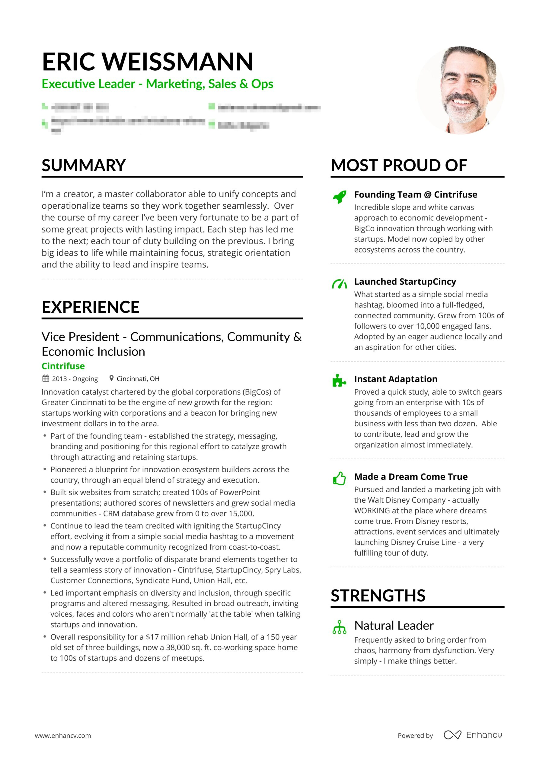 example of successful entrepreneur resume free examples professional writing winning Resume Writing A Winning Resume Samples