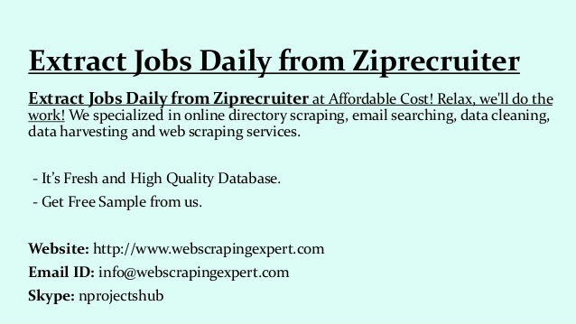 extract jobs daily from ziprecruiter resume search flight operations french example small Resume Ziprecruiter Resume Search