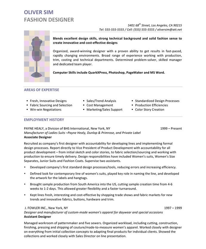 fashion designer page1 resume design unique template graphic indian the best penn state Resume Indian Fashion Designer Resume