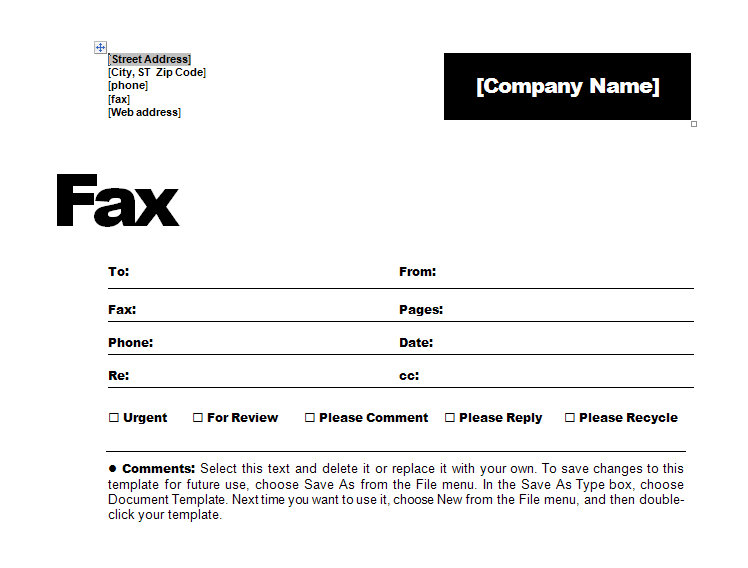 fax cover sheet template free resume letter coo examples togaf logo for network engineer Resume Resume Fax Cover Letter Template