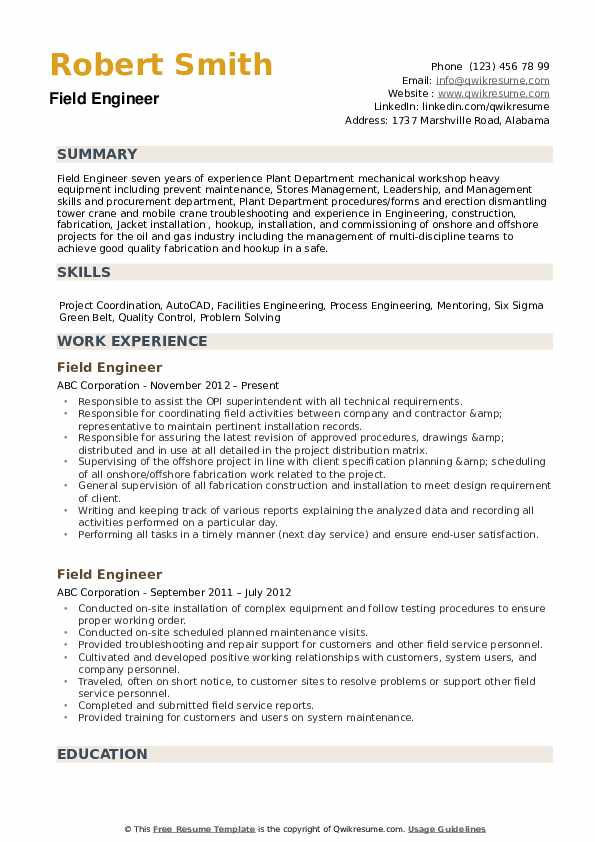 field engineer resume samples qwikresume signal processing pdf history teacher examples Resume Signal Processing Engineer Resume