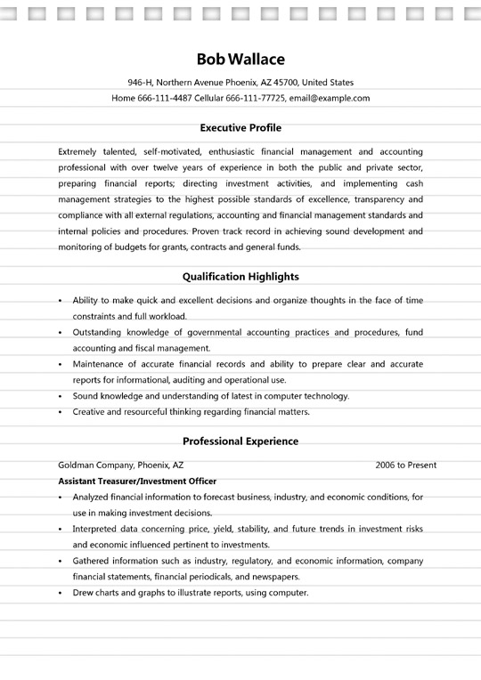finance manager resume sample ms word format assistant accounts financial for cps worker Resume Sample Resume Assistant Manager Finance & Accounts
