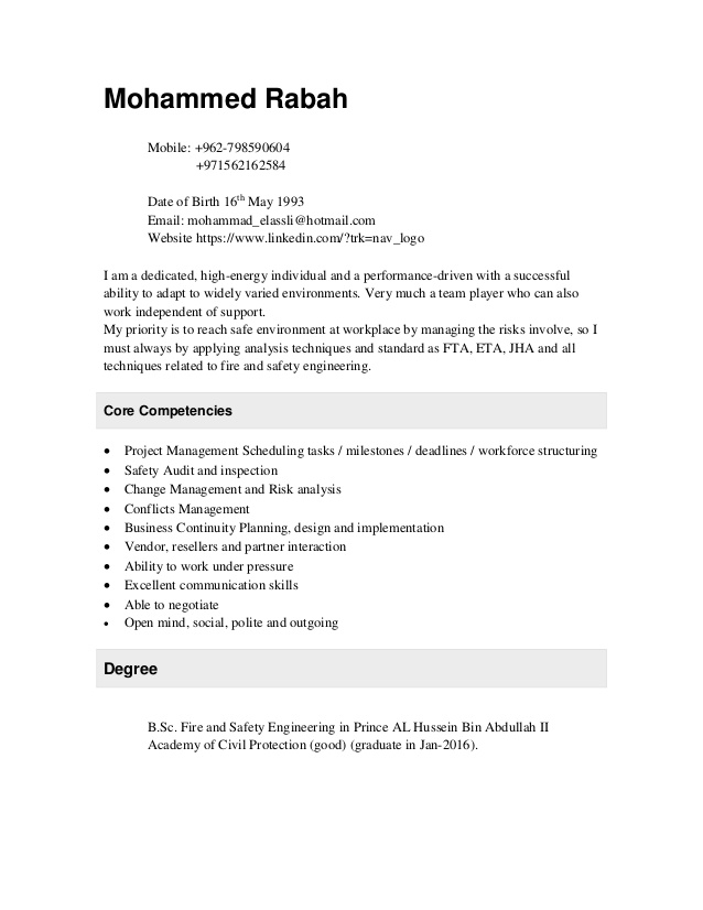 fire and safety engineer cv protection resume cover letter order data transcriber should Resume Fire Protection Engineer Resume