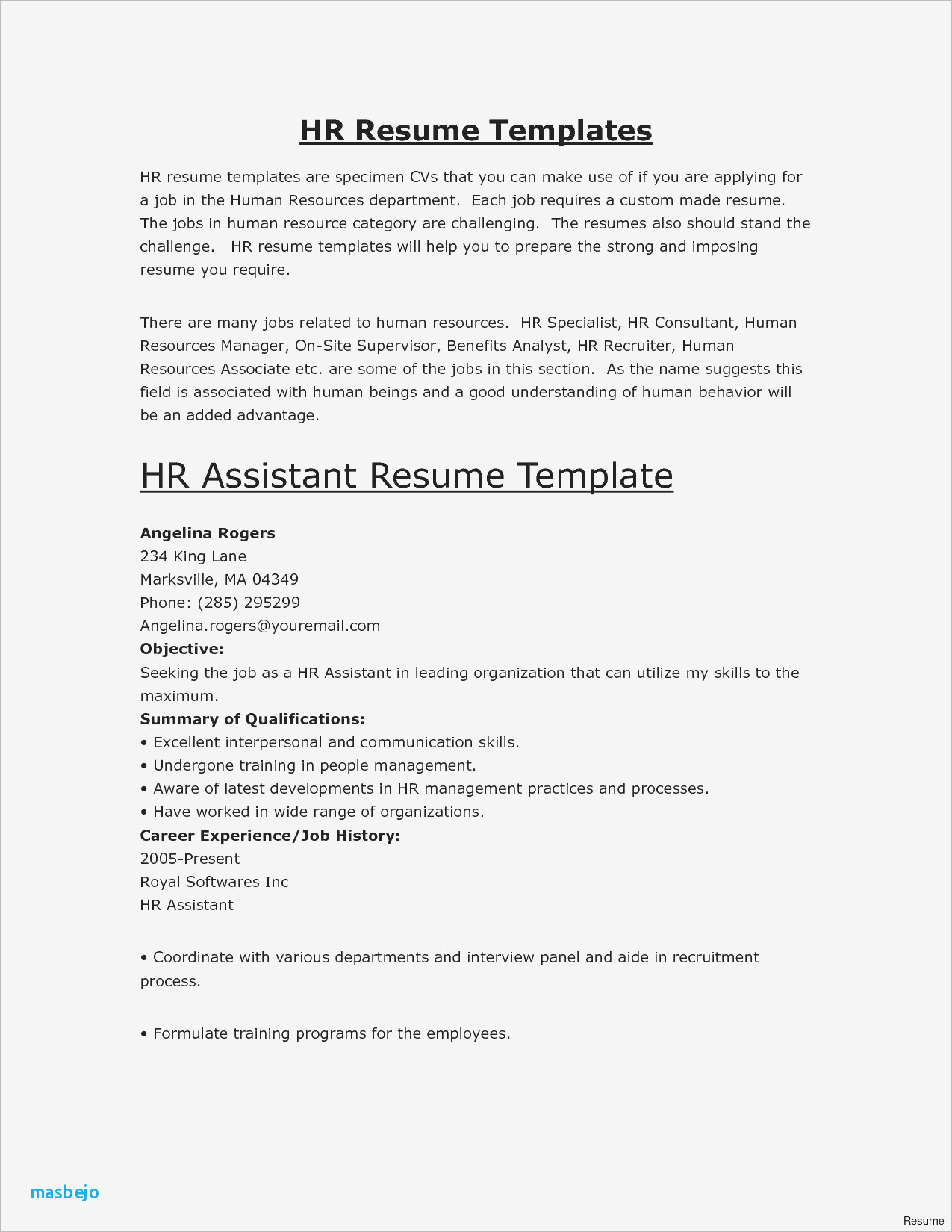 first job resume summary examples best good for new objective of military transition Resume Good Resume Summary Examples