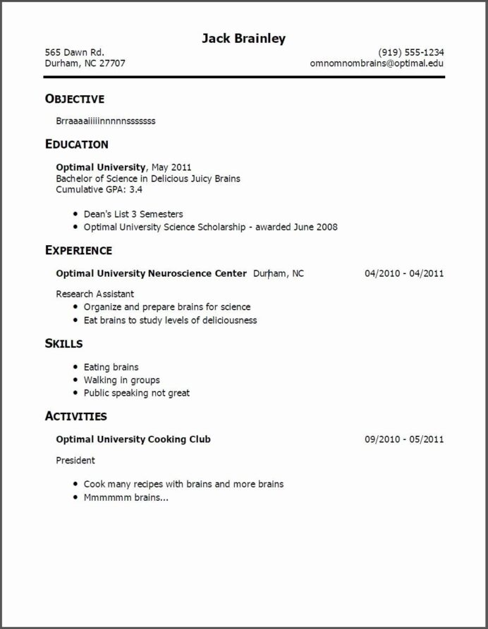 first time job resume in examples template graduation date on best for any career Resume First Time Job Resume Examples