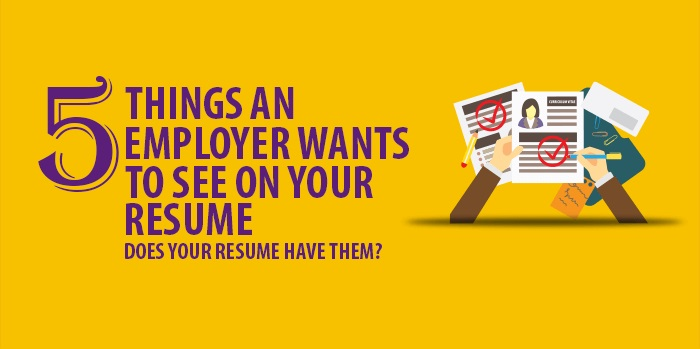 five things an employer wants to see on your resume monsterindia monster writing tips Resume Monster Resume Writing Tips