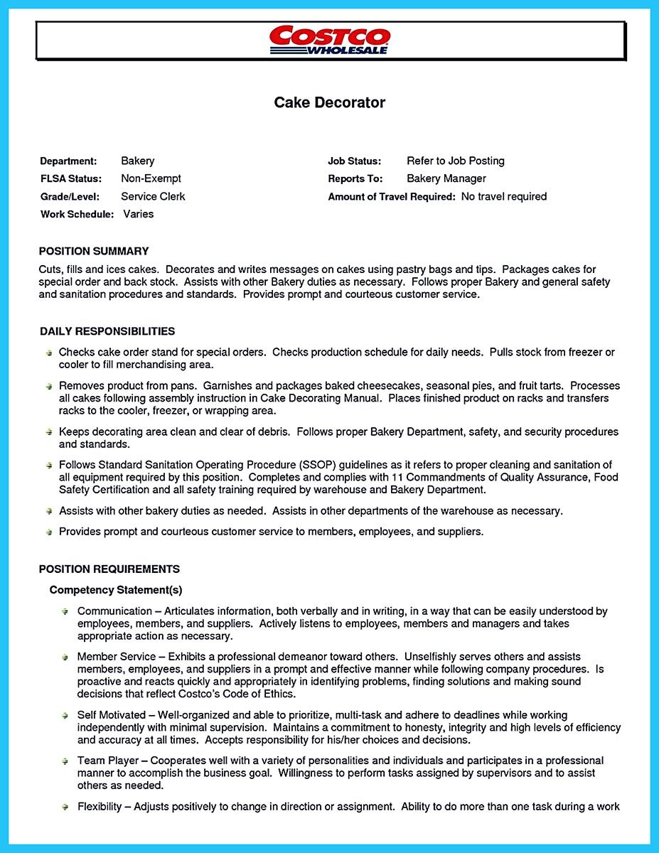 flawless cake decorator resume to guide you your best job description posting sample Resume Cake Decorator Resume Sample