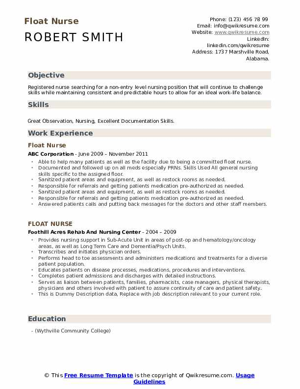 float nurse resume samples qwikresume entry level rn examples pdf financial planning and Resume Entry Level Rn Resume Examples