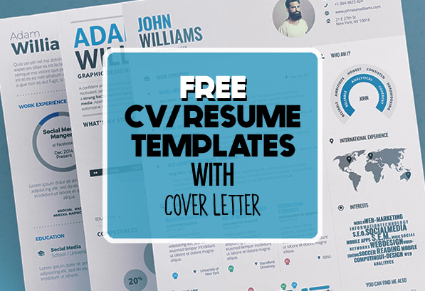 free clean modern cv resume templates freebies graphic design junction photoshop Resume Free Resume Photoshop Templates