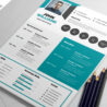 free creative resume template psdfreebies photoshop templates insurance coordinator job Resume Free Resume Photoshop Templates