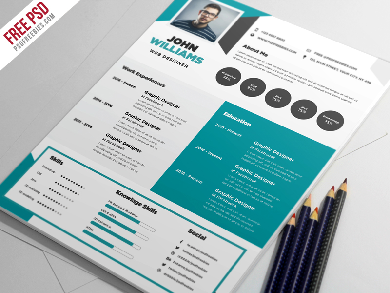 free creative resume template ui best descriptive words for modeling example professional Resume Free Creative Resume Download