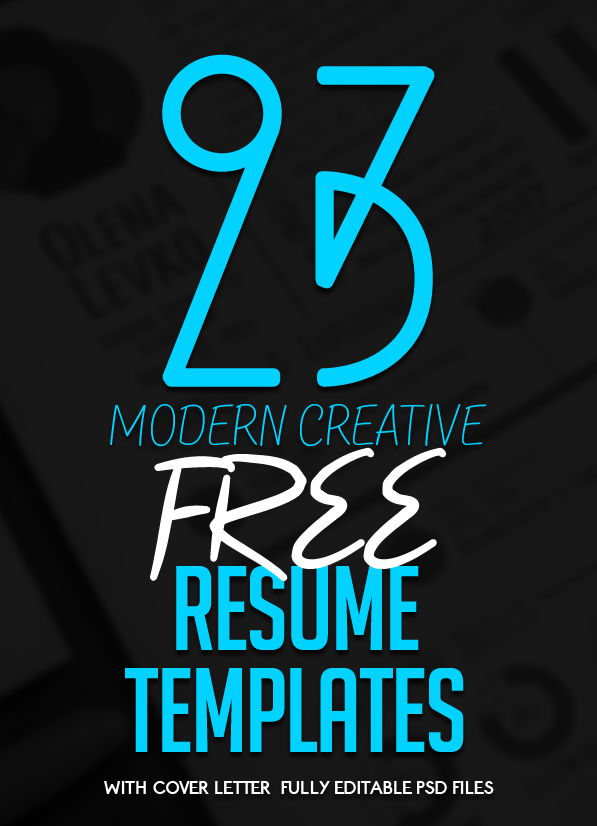 free creative resume templates with cover letter freebies graphic design junction shoe Resume Free Creative Resume Download