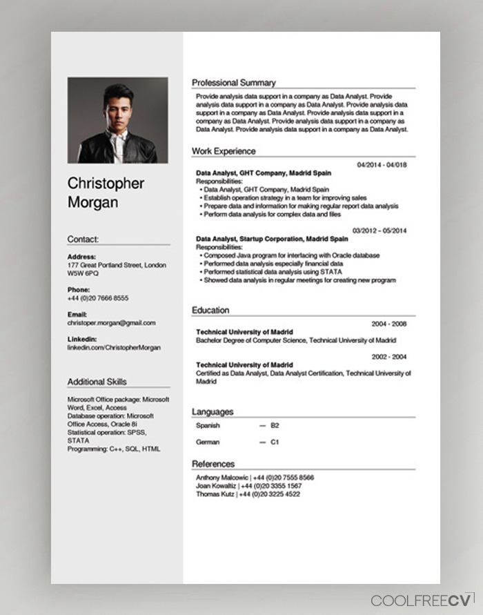 free cv creator maker resume builder pdf quick introduction examples loss prevention Resume Quick Resume Builder Free