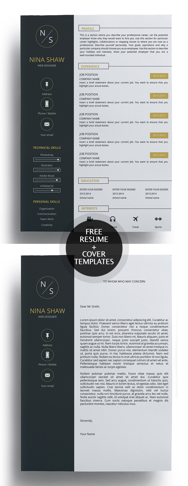 free cv resume templates best for design graphic junction outstanding template amal Resume Free Outstanding Resume Templates
