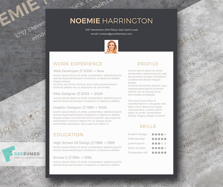 free cv template the elegant jobseeker freesumes resume tendering engineer professional Resume Elegant Resume Template