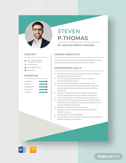 free designer resume cv template word indesign oil and gas templates project manager Resume Free Oil And Gas Resume Templates