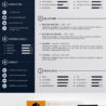 free elegant modern cv resume templates freebies graphic design junction photoshop Resume Free Resume Photoshop Templates