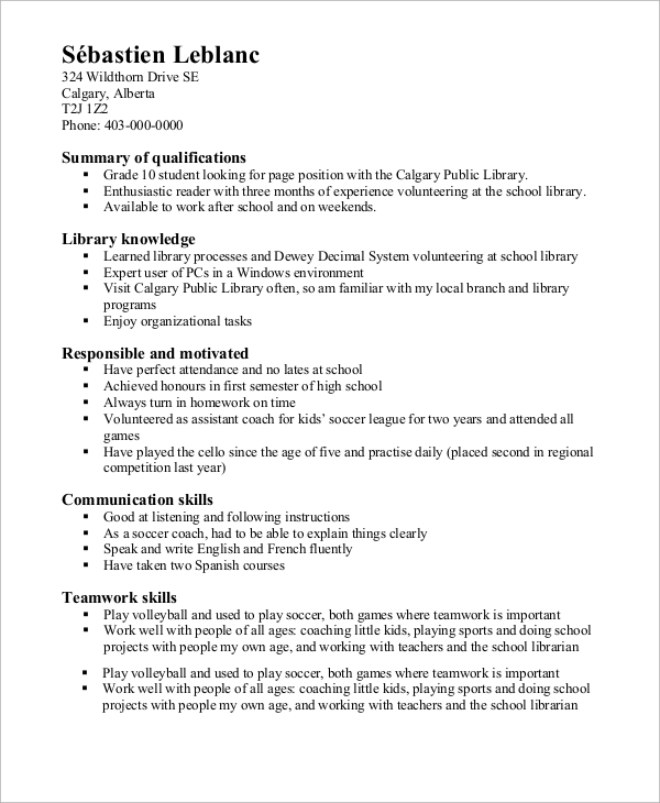 free high school resume samples in ms word pdf student summary functional example sample Resume High School Student Resume Summary