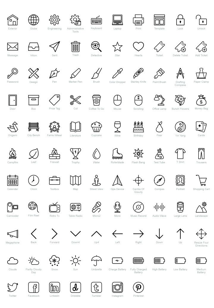 free icons for ios fribly icon set resume doodle linkedin symbol best outline contact Resume Linkedin Symbol For Resume