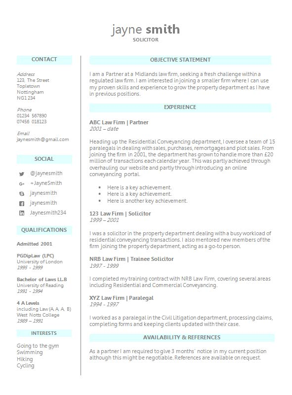 free legal cv resume template in microsoft word format creativebooster for law students Resume Resume Format For Law Students