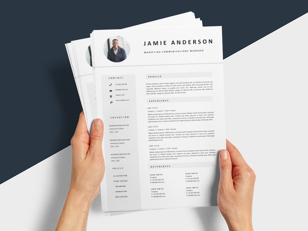 free marketing communications manager resume template with professional look tableau Resume Marketing Communications Manager Resume