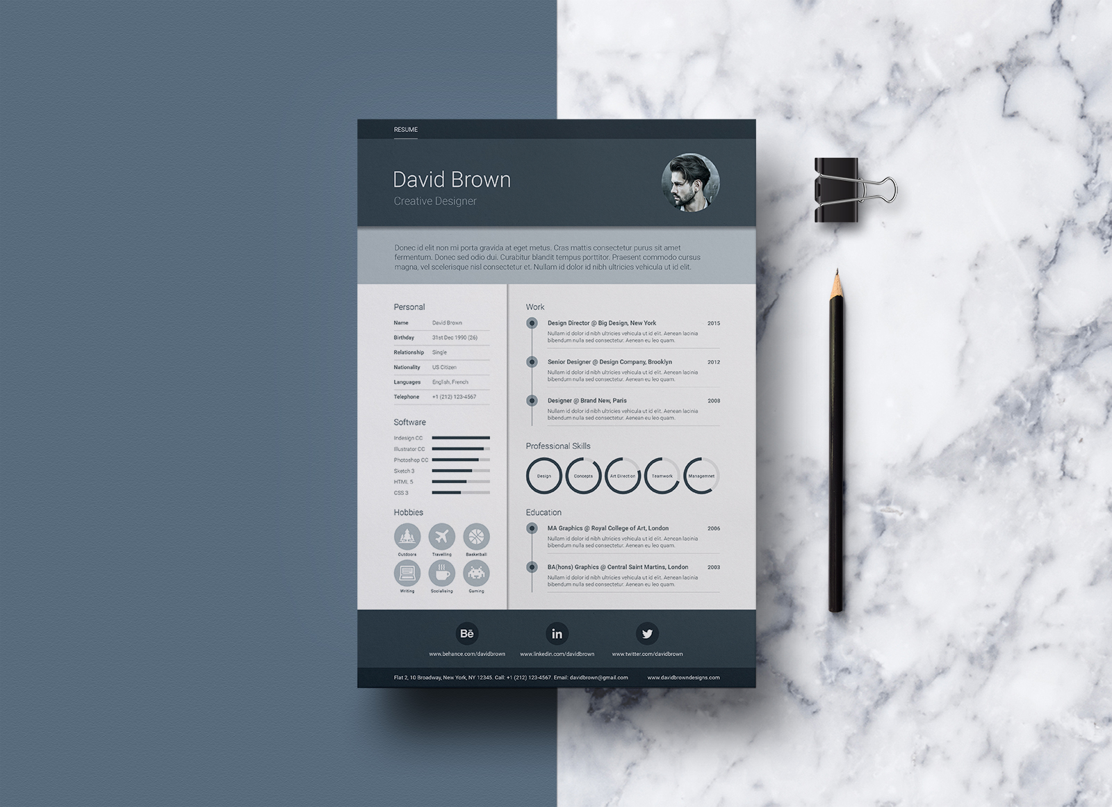 free material resume design template in good job application and sample format word Resume Material Design Resume Template Free
