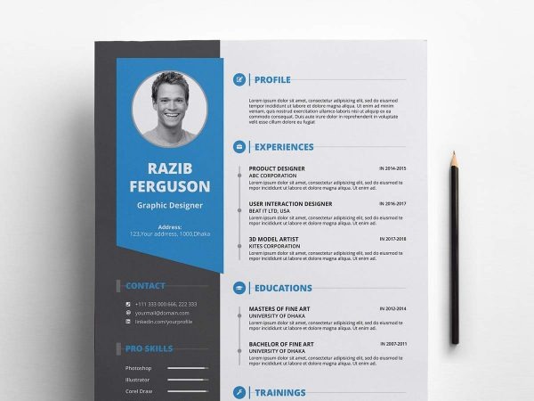 free resume cv templates in photohsp format word template cover letter 600x450 college Resume Free Word Resume Templates 2019