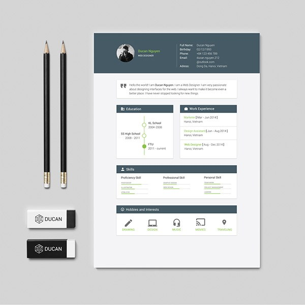 free resume template material design vector icons certified nursing assistant objective Resume Material Design Resume Template Free