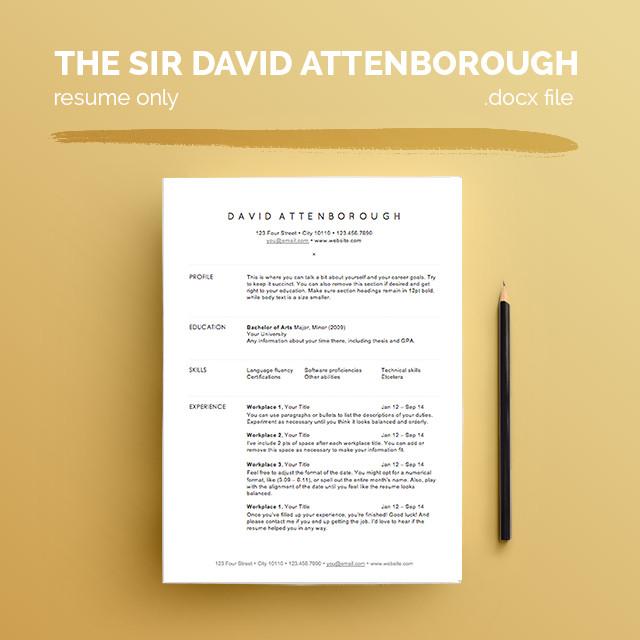 free resume templates for architects archdaily architecture template david 20attenborough Resume Architecture Resume Template
