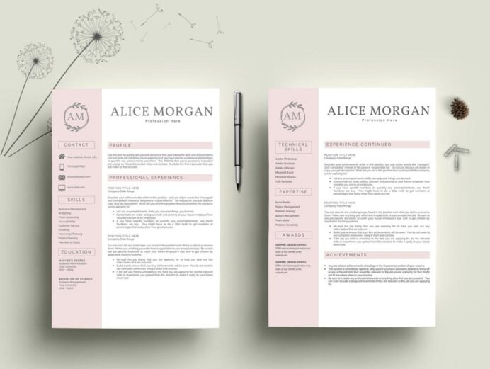 free resume templates for microsoft word best of template without photo professional mb Resume Resume Template Without Photo