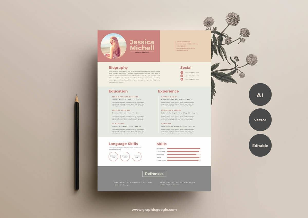 free resume templates for to now illustrator template cnc operator dispatcher examples Resume Free Resume Illustrator Template