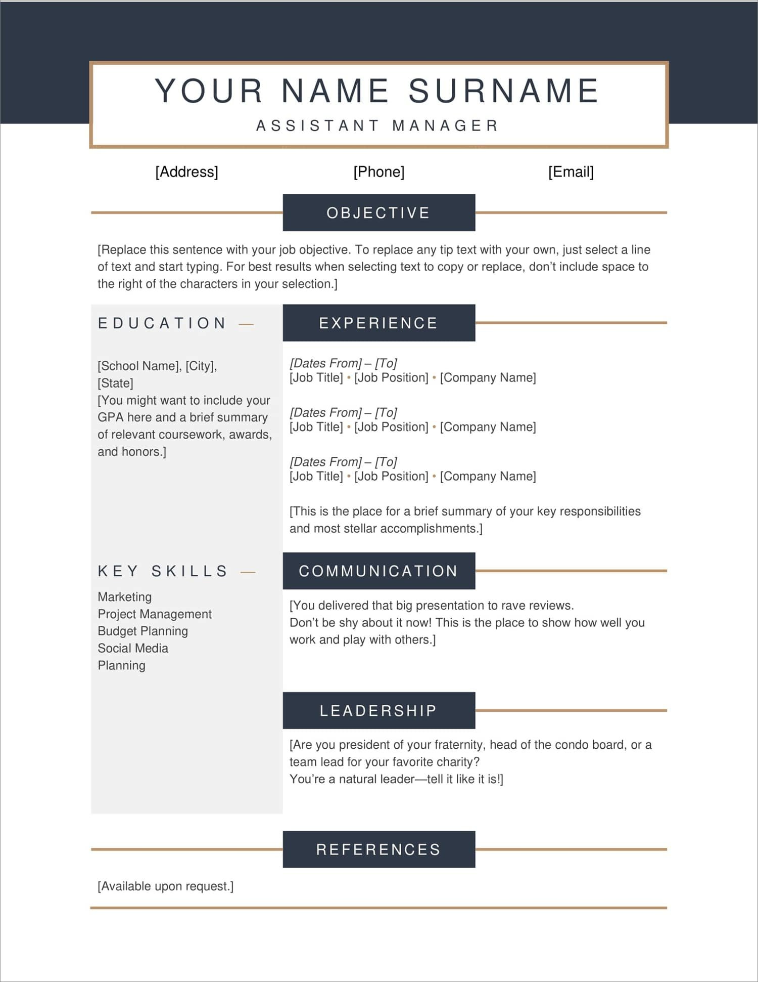 free resume templates for to now readymade format new describing language skills on Resume Free Readymade Resume Format