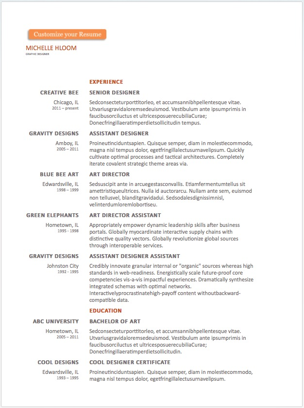 free resume word templates to impress your employer responsive muse widgets examples Resume Free Resume Examples 2018
