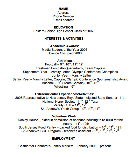 free sample college resume templates in ms word pdf for admission application template Resume Resume For College Admission