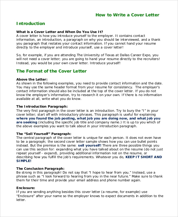 free sample cover letter introduction in pdf ms word examples for resume employee Resume Introduction Examples For Resume