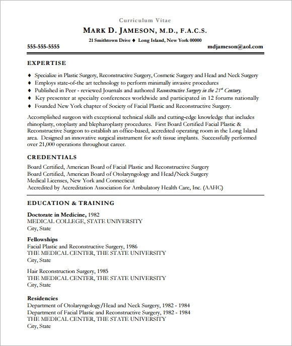 free sample medical cv templates in pdf resume microsoft word template firefighter tips Resume Free Medical Resume Templates Microsoft Word