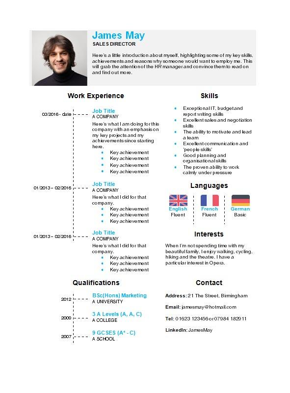 free timeline cv resume template in microsoft word format creativebooster using templates Resume Using Microsoft Word Resume Templates