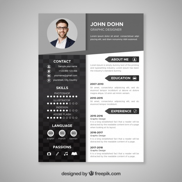 free vector black and resume template architecture dishwasher job description for Resume Architecture Resume Template